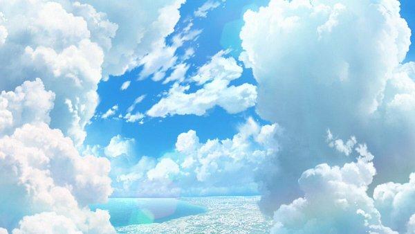 Tags: Anime, Koi wa Ameagari no You ni, Bright Colors, Twitter, Official Art, Wallpaper