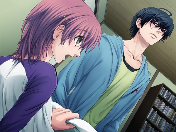 Tags: Anime, Koibito Yugi, Aikawa Yuuta, CG Art