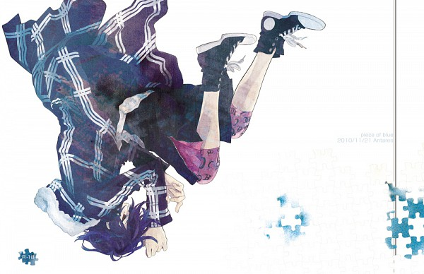 Tags: Anime, Shiki, Koide Natsuno, Puzzle Piece, Fanart, Pixiv