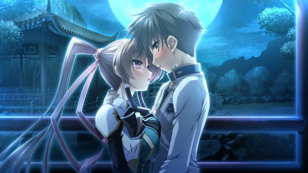 Tags: Anime, BaseSon, Koihime†Musou, Bachou Mouki (Koihime Musou), Hongou Kazuto, Wallpaper, CG Art, Love Princess Unmatched