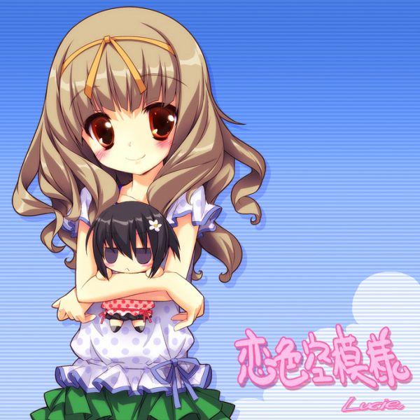 Tags: Anime, Lucie, Studio Ryokucha, Koiiro Soramoyou, Nakanishi Aiko, Itou Mikoto, Official Art