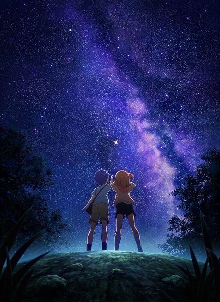 Tags: Anime, Yamazaki Jun, Dogakobo, Koisuru Asteroid, Manaka Ao, Konohata Mira, Key Visual, Official Art
