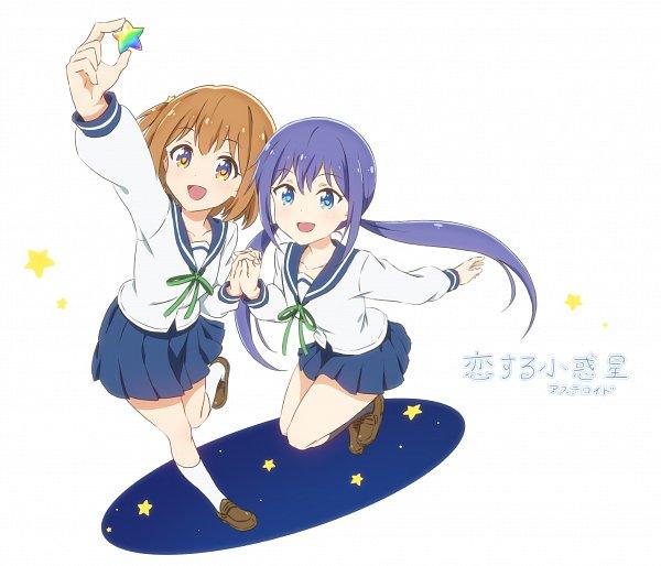 Tags: Anime, Pixiv Id 1732903, Koisuru Asteroid, Manaka Ao, Konohata Mira