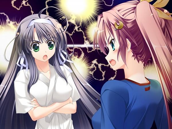 Tags: Anime, Maki Yahiro, Fizz, Koisuru Koto To Mitsuketari!, Tsukigana Towa, Kazaori Yukina, Moon Clip, CG Art