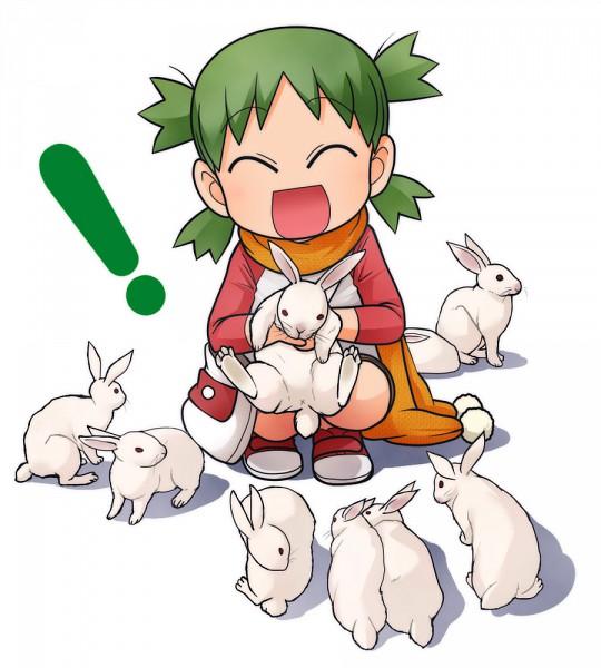 Tags: Anime, Hatuka (Pixiv 34956), Yotsuba&!, Koiwai Yotsuba, Quad Tails, Pixiv, Happy 2011, Fanart