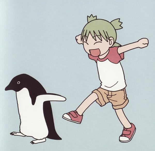 Tags: Anime, Yotsuba&!, Koiwai Yotsuba, Quad Tails