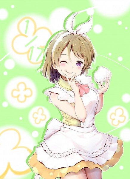 Tags: Anime, Pixiv Id 4362322, Love Live!, Koizumi Hanayo, Onigiri, Pixiv, Fanart From Pixiv, Fanart, Hanayo Koizumi