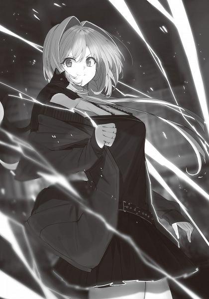 Tags: Anime, Touzai, Koizumi Kaon Wa Jichou Shinai Bishoujo Joshu No Ama Dere Jijou, Novel Illustration, Official Art, Character Request