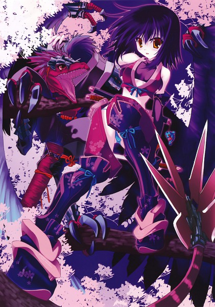 Tags: Anime, Kokonobi, Dengeki Moeoh 2010-02, Dengeki Moeoh, Mobile Wallpaper, Pixiv