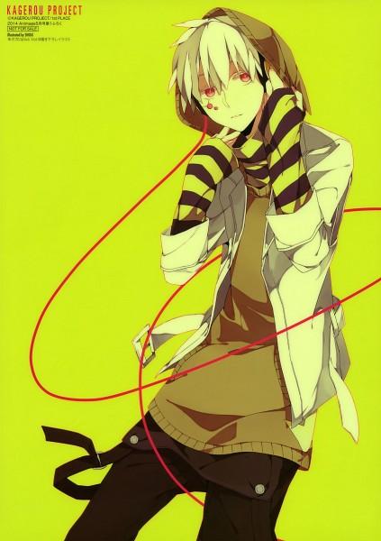 Tags: Anime, Sidu, Shaft (Studio), Kagerou Project, Kokonose