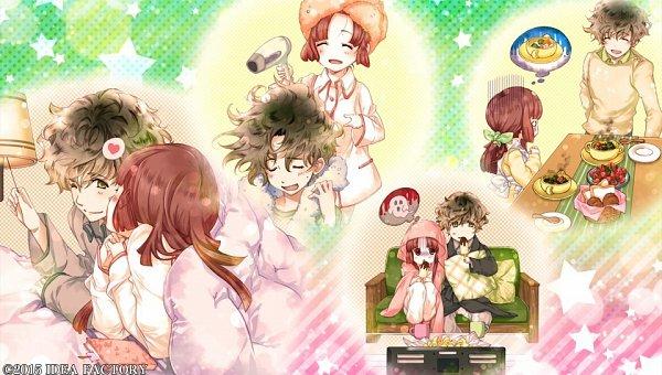 Tags: Anime, Yuiga Satoru, Otomate, IDEA FACTORY, Kokuchou no Psychedelica, Beniyuri, Kagiha (Kokuchou no Psychedelica), CG Art, Psychedelica Of The Black Butterfly