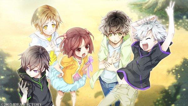 Tags: Anime, Yuiga Satoru, IDEA FACTORY, Otomate, Kokuchou no Psychedelica, Yamato (Kokuchou no Psychedelica), Kagiha (Kokuchou no Psychedelica), Karasuba (Kokuchou no Psychedelica), Monshiro (Kokuchou no Psychedelica), Beniyuri, Official Art, CG Art, Psychedelica Of The Black Butterfly