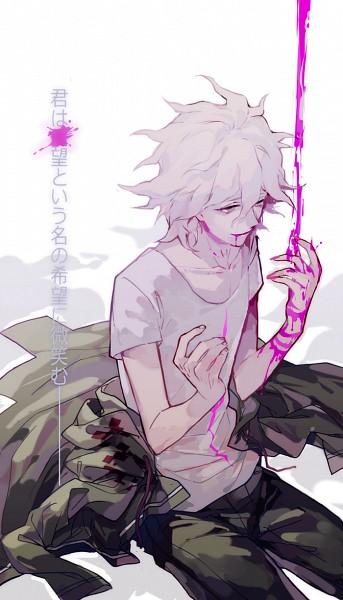 Tags: Anime, Mayer, Super Danganronpa 2, Komaeda Nagito, Mobile Wallpaper, Pixiv, Fanart, Fanart From Pixiv