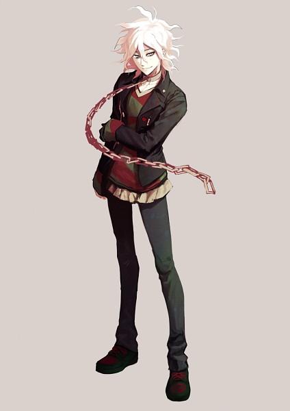 Tags: Anime, Pixiv Id 650507, Zettai Zetsubou Shoujo - Danganronpa Another Episode, Komaeda Nagito, Pixiv, Fanart, Fanart From Pixiv, Mobile Wallpaper