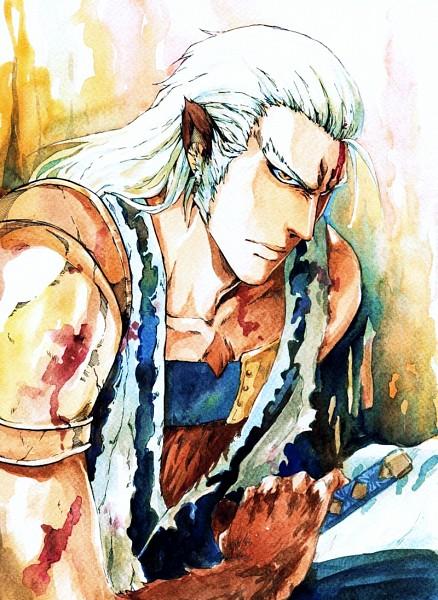 Tags: Anime, Sideburn004, BLEACH, Komamura Sajin, Spoiler, deviantART, Mobile Wallpaper, Fanart From DeviantART, Fanart
