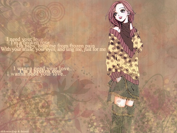 Tags: Anime, Yazawa Ai, NANA (Series), Komatsu Nana, Wallpaper