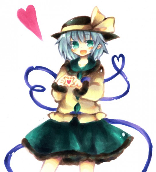 Tags: Anime, Takada07, Touhou, Komeiji Koishi, Pixiv, Fanart From Pixiv, Fanart, Koishi Komeiji