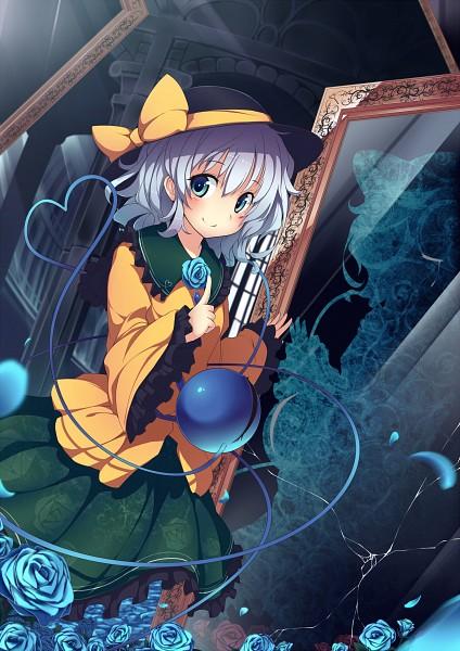 Tags: Anime, UGUME, Touhou, Komeiji Koishi, Broken Glass, Fanart From Pixiv, Fanart, PNG Conversion, Pixiv, Koishi Komeiji