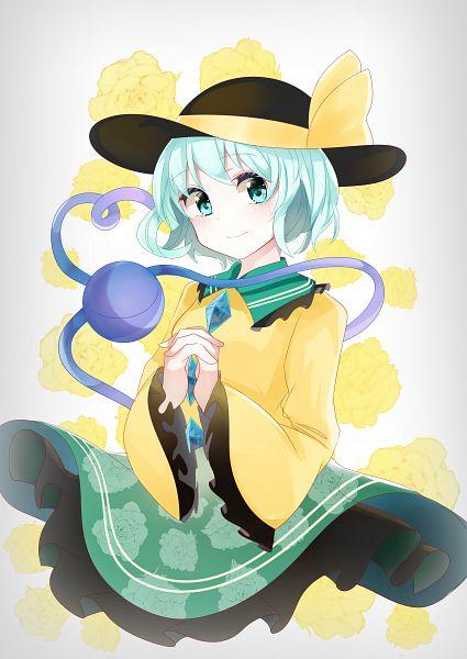 Tags: Anime, Pixiv Id 16116506, Touhou, Komeiji Koishi, Fanart, Fanart From Pixiv, Pixiv, Koishi Komeiji