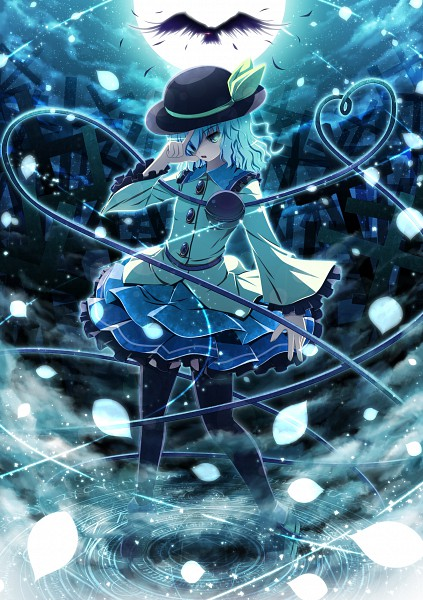 Tags: Anime, Shushio, Touhou, Komeiji Koishi, Pixiv, Mobile Wallpaper, Fanart From Pixiv, Fanart, Koishi Komeiji