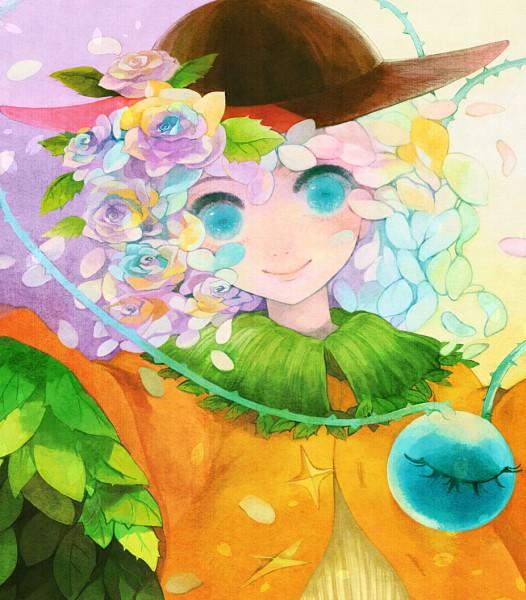 Tags: Anime, Xero (artist), Touhou, Komeiji Koishi, Brambles, Brown Headwear, Fanart, Pixiv, Fanart From Pixiv, Koishi Komeiji