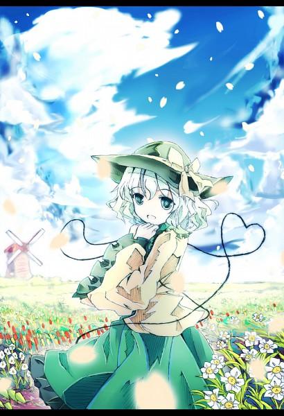 Tags: Anime, Bondson, Touhou, Komeiji Koishi, Fanart, Fanart From Pixiv, Pixiv, Koishi Komeiji