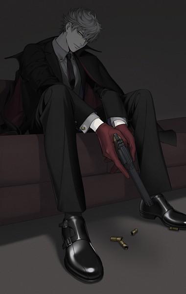 Tags: Anime, Komo (Sleepy), Revolver, Pixiv, Original, Mobile Wallpaper