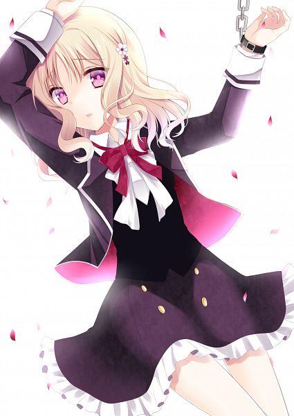 Tags: Anime, Agekichi (Heart Shape), Diabolik Lovers ~Haunted dark bridal~, Komori Yui, Glowing Background, Mobile Wallpaper
