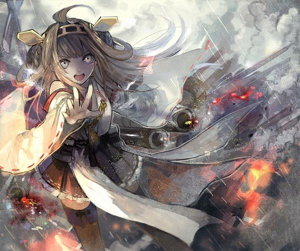 Tags: Anime, Akira Hou, Kantai Collection, Kongou (Kantai Collection)