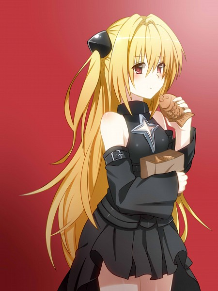 Tags: Anime, Pixiv Id 5097055, To LOVE-Ru, Konjiki no Yami, Taiyaki, Pixiv