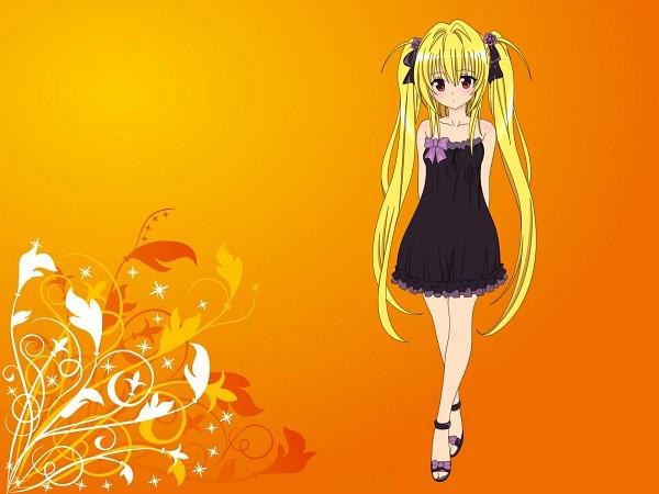 Tags: Anime, To LOVE-Ru, Konjiki no Yami, Fanmade Wallpaper, Edited, Wallpaper