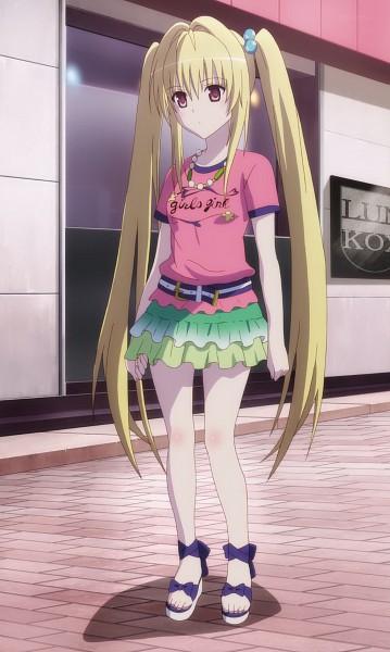 Tags: Anime, To LOVE-Ru, Konjiki no Yami, Mobile Wallpaper, Stitched Screenshot, Screenshot