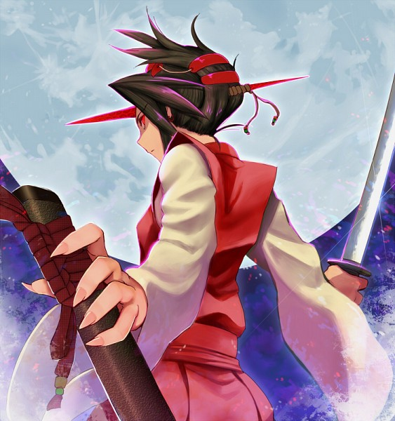 Tags: Anime, Pixiv Id 133099, Touhou, Konngara, Pixiv, PC-98 Touhou Era, Fanart, Fanart From Pixiv
