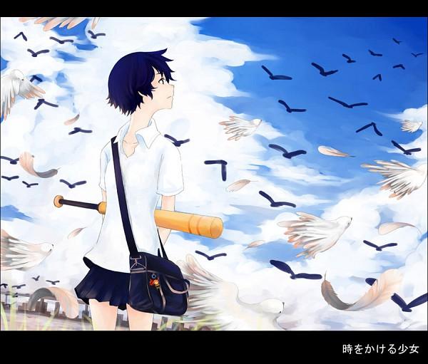 Tags: Anime, Littledog (Artist), Toki wo Kakeru Shoujo, Konno Makoto, deviantART
