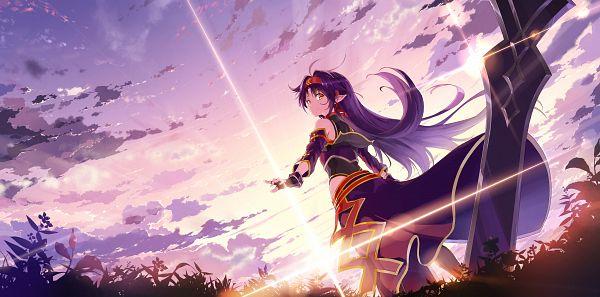 Tags: Anime, Kyokucho, Sword Art Online, Konno Yuuki, Fanart From Pixiv, Pixiv, Fanart