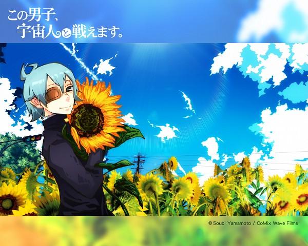 Tags: Anime, Yamamoto Soubi, Kono Danshi Uchuujin to Tatakaemasu, Kakashi, Official Wallpaper, Wallpaper, Official Art, This Boy Can Fight Aliens.