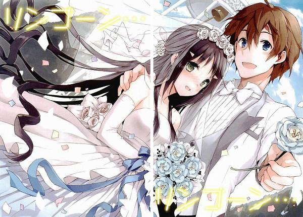 Tags: Anime, CUTEG, Kono Naka ni Hitori Imouto ga Iru!, Mikadono Shougo, Tsuruma Konoe, Official Art, Novel Illustration, Scan