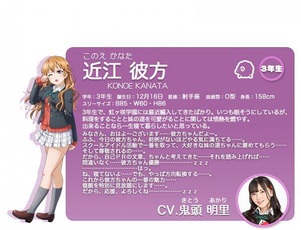Konoe Kanata - Love Live! School Idol Festival ALL STARS