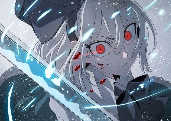 Tags: Anime, jan (lightdragoon), Touhou, Myon, Konpaku Youmu, Wide Eyes, Pixiv, Fanart From Pixiv, Fanart, Youmu Konpaku