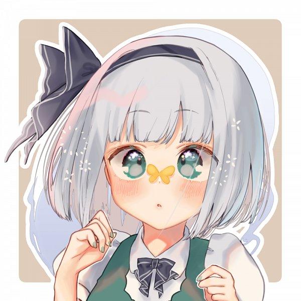 Tags: Anime, Mokokiyo, Touhou, Konpaku Youmu, Fanart, Fanart From Pixiv, Pixiv, Youmu Konpaku