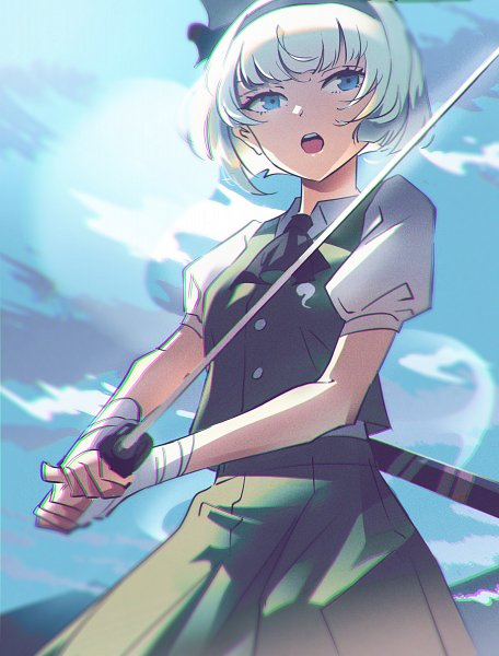 Tags: Anime, Pixiv Id 16406795, Touhou, Konpaku Youmu, Youmu Konpaku