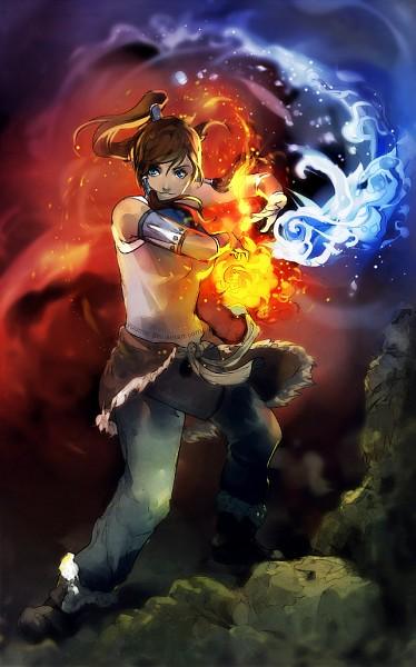 Tags: Anime, Wenqing Yan, Avatar: The Legend of Korra, Korra, Mobile Wallpaper, deviantART, Fanart, Fanart From DeviantART