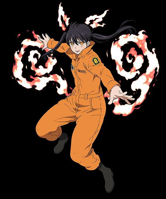 Enen No Shouboutai Fire Force Zerochan Anime Image Board Cool collections of animated fire desktop wallpaper for desktop, laptop and mobiles. enen no shouboutai fire force