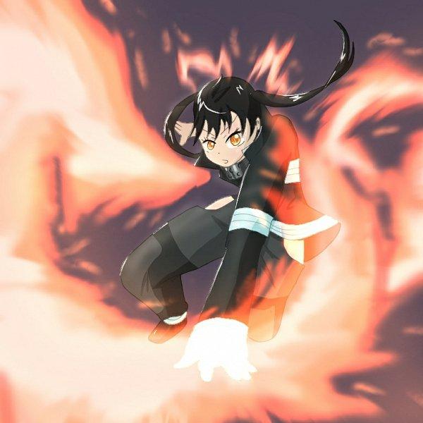 Tags: Anime, Pixiv Id 10597446, Enen no Shouboutai, Kotatsu Tamaki