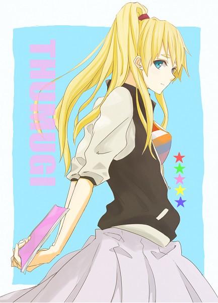 Tags: Anime, Gogo Pan, K-ON!, Kotobuki Tsumugi, Mobile Wallpaper, Fanart, Fanart From Pixiv, Pixiv