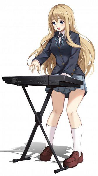 Tags: Anime, Pixiv Id 11129669, K-ON!, Kotobuki Tsumugi, Keyboard (Instrument), Fanart From Pixiv, Fanart, Pixiv, Tsumugi Kotobuki