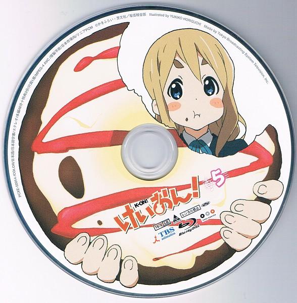 Tags: Anime, Horiguchi Yukiko, Kyoto Animation, K-ON!, Kotobuki Tsumugi, CD (Source), Official Art, Scan, Tsumugi Kotobuki