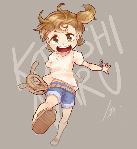 Tags: Anime, Barakamon, Kotoishi Naru, Nururuateka, Fanart From DeviantART, deviantART, Fanart