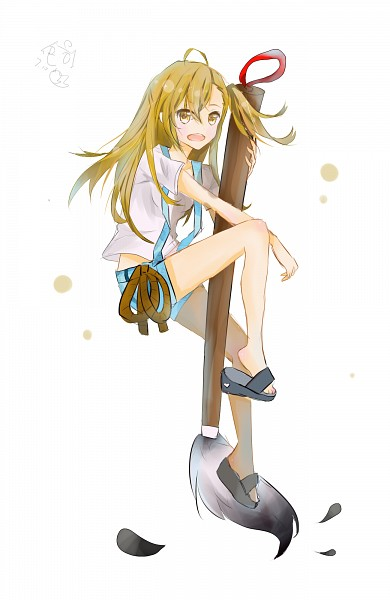 Tags: Anime, Pixiv Id 8890590, Barakamon, Kotoishi Naru, Ink, Brush, Mobile Wallpaper