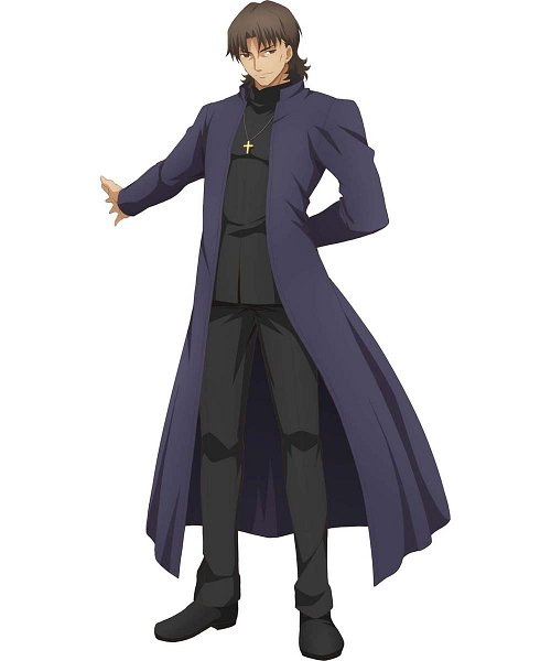 Tags: Anime, ufotable, Fate/stay night : Heaven's Feel - I Presage Flower, Fate/stay night : Heaven's Feel, Fate/stay night, Kotomine Kirei, Official Art